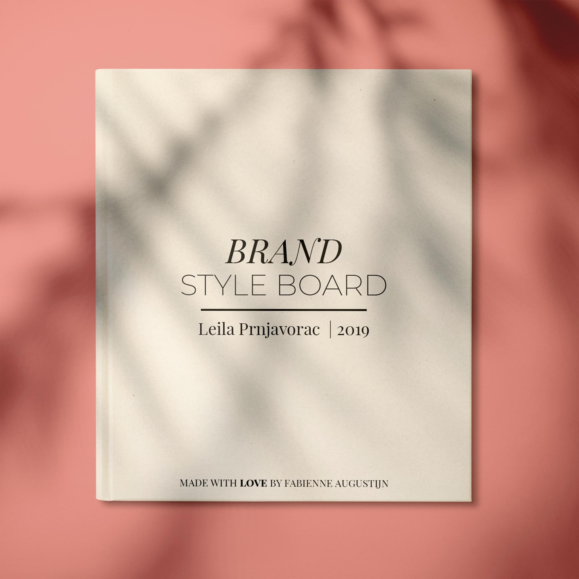 Brand Style Board By Fabienne